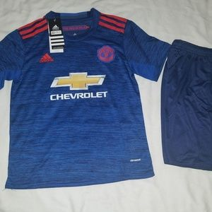 Other - MANCHESTER UNITED AWAY KID SET( JERSEY & SHORT)